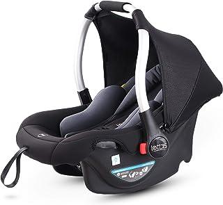 LETTAS Babyschale Baby-Autositz mit Sonnenverdeck Gruppe 0 Kindersitz 0-13 kg, nutzbar ab der Geburt bis ca. 12 Monate ECE-R 44/04