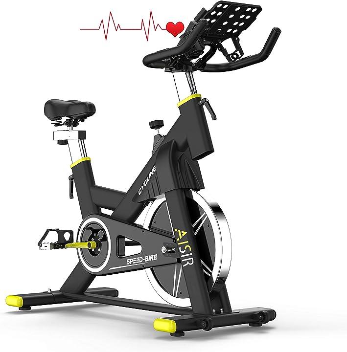 Cyclette da casa, esercizio di bicicletta con display lcd/sensore di impuls/resistenza magnetica/sedile DDDC-1