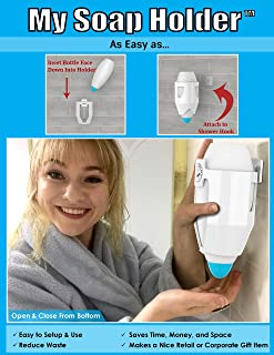 Soapovative My Soap Holder Hanging Soap Bottle Holder Bath Accessory
