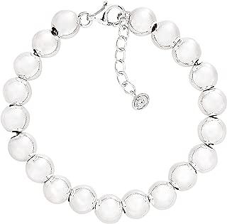 Silpada 'on the Ball' Sterling Silver Bead Bracelet, 7.5