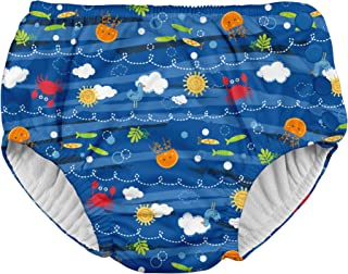 Snap Reusable Swim Diaper   No other diaper necessary, UPF 50+ protection