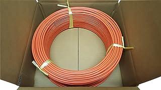 日本製線 高性能ギガビット伝送対応LANケーブル (Cat5e) 100m巻(橙色) 0.5 - 4P NSEDT (OR) (100)