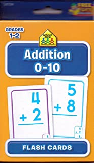 School Zone Flash Cards for Addition