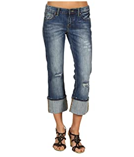 Classic Western Cropped Jean