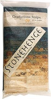 Stonehenge Gradations Oxidized Copper Stone Strips 40 2.5-inch Strips Jelly Roll Northcott