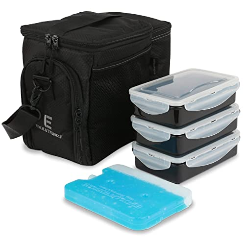 Evolutionize Meal Prep Insulated Lunch Bag Cooler