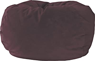 Gold Medal Bean Bags XX-Large Fairview Suede Bean Bag, Wine