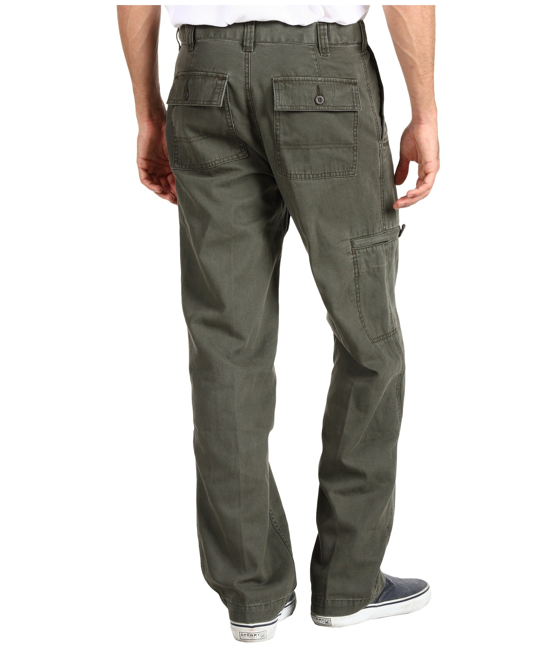 Green Classic rifle Fit Canvas Cargo D3 Comfort Dockers S6xwqBHan