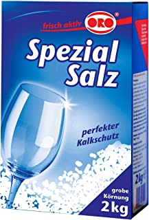 ORO Special Dishwasher Salt 2 KG - Made in Germany