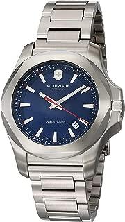 Swiss Army Men's Quartz Watch with i.n.o.x. Analogue Quartz Stainless Steel 241724.1