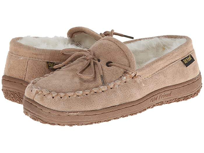 Image of Old Friend Fleece Lined Moccasin Slippers for Women