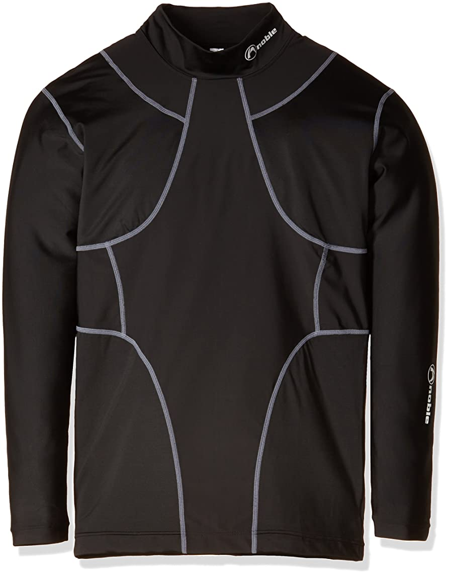 敬ないつ拒否[ノーブル] オールインワン ロングスリーブシャツ TXII 黒 400405