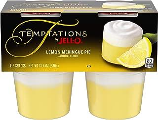 JELL-O Temptations by Pie Snacks Lemon Meringue Pie, 13.4 oz