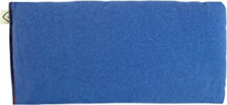 Unscented Flax Organic Eye Pillow - Soft Cotton Flannel 4 x 8.5 - choose from a rainbow of soothing colors - purple