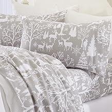 Twin XL Deer by Taemin Ankh Boho Fitted Sheet Gold Deer Moon on Black Bedding Modern Luxury Bedding Sheet