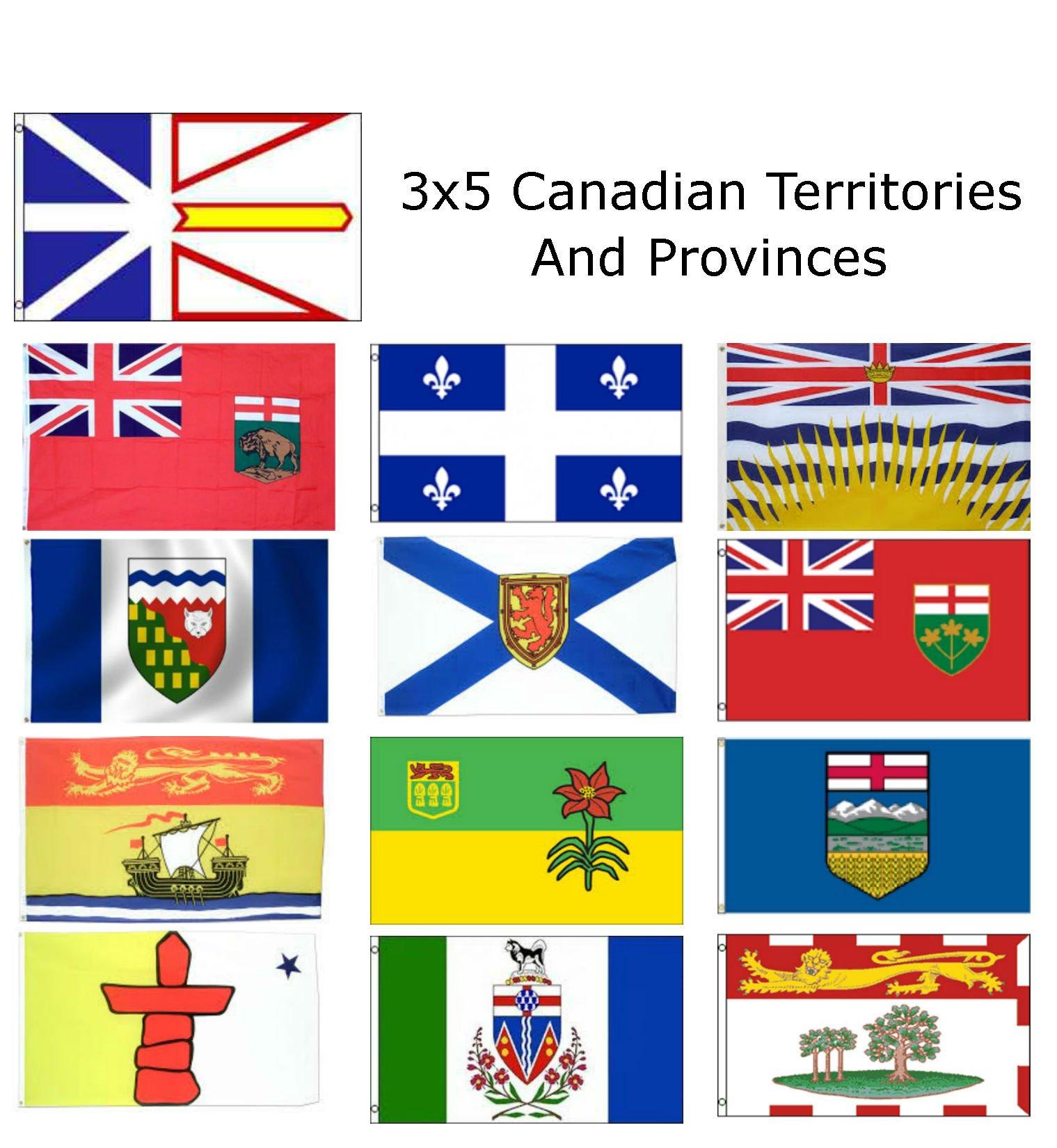 NUNAVUT FLAG Size 5x3 Feet CANADIAN TERRITORY FLAGS