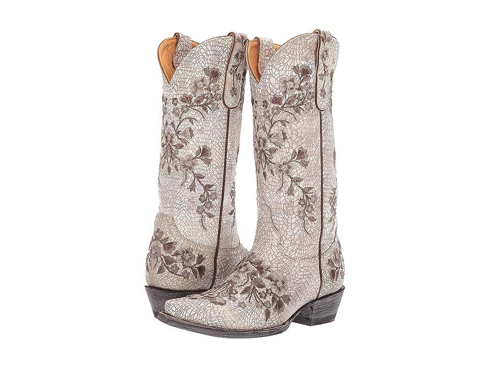 Old Gringo Samira (Milk Suede) Cowboy Boots