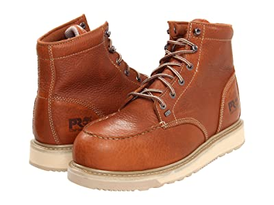 Timberland PRO Barstow Wedge Alloy Safety Toe (Rust) Men