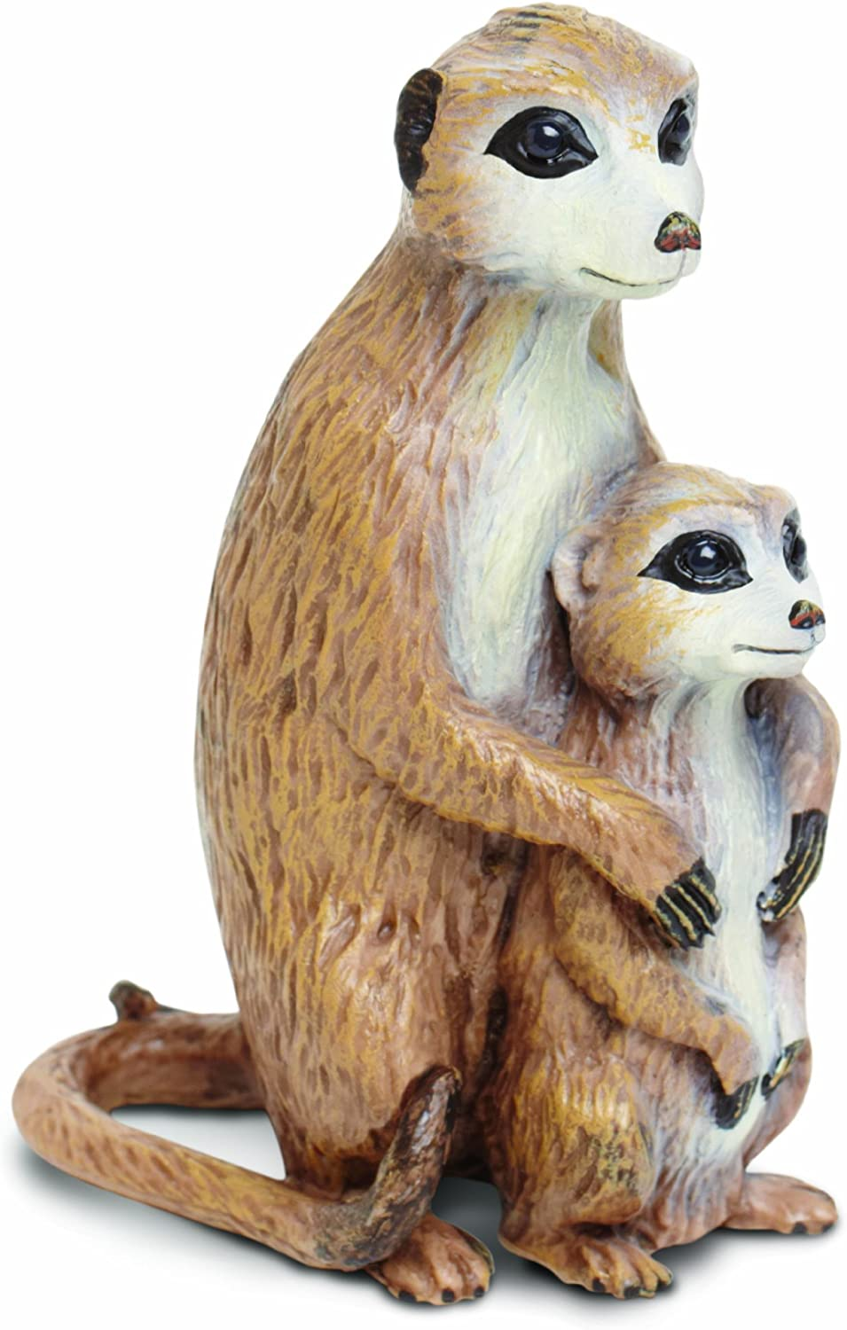 Safari 267029 Meerkat with Baby Animal Figure- Pack of 4