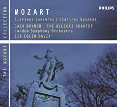 mozart concerto for clarinet and orchestra