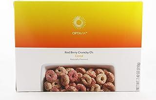 Optavia Red Berry Crunchy O's Cereal - 7 Servings