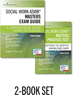Social Work ASWB Masters Exam Guide and Practice Test, Second Edition Set - Includes a Comprehensive LMSW Study Guide and Practice Test Book with 170 Questions, Free Mobile and Web Access Included