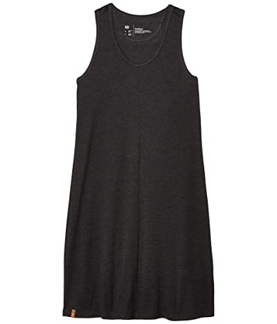 tentree Narayani Dress (Meteorite Black Heather/Meteorite Tonal Leaf All Over Print) Women