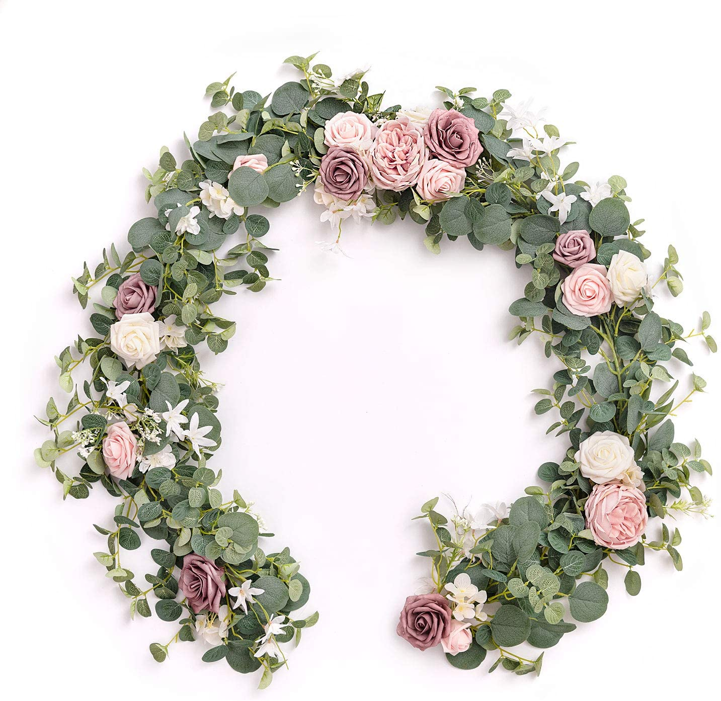 Ling's Surprise price moment Genuine Free Shipping Eucalyptus Garland Runner with 6FT,Table Flowers