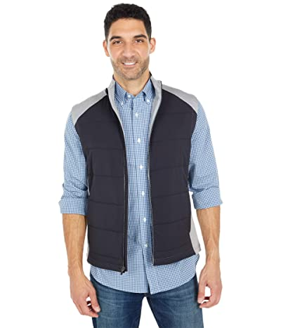 Southern Tide Performance Vest (Heather Grey) Men