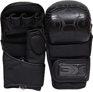 comprar comparacion 3X Elección Profesional Maya Hide Leather Boxing Krav Maga MMA Grappling Gloves Martial Arts Sparring Punching Bag Cage Co...