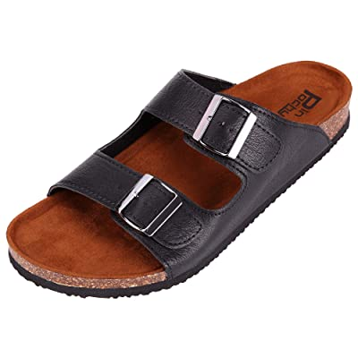 Pinpochyaw Mens Arizona Sandals Cork Footbed Ad...