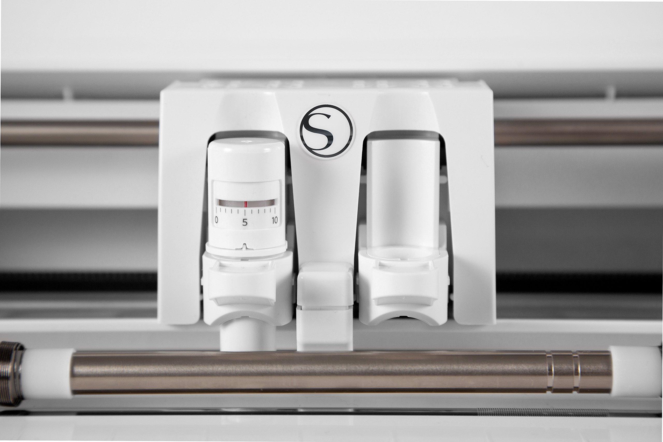 Silhouette CAMEO 3 4-T- Plotter de corte puro, color blanco ...