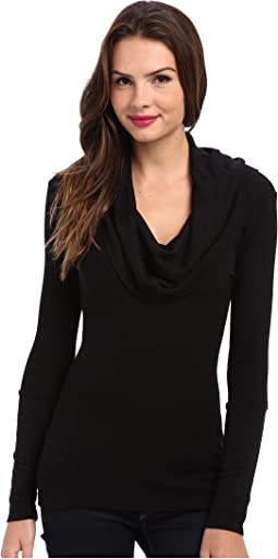 Splendid - Thermal L/S Cowl Neck Tunic