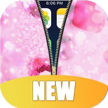 Diamond Zipper Lock Screen HD