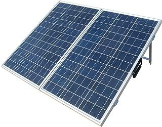 ECO-WORTHY 120 Watts 12Volt Portable Folding Polycrystalline PV Solar Panel Foldable Solar Suitcase