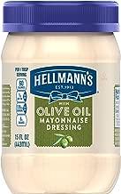 Hellmann's Mayonnaise Dressing, with Olive Oil, 15 oz