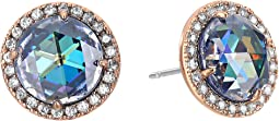Bright Ideas Pave Halo Stud Earrings
