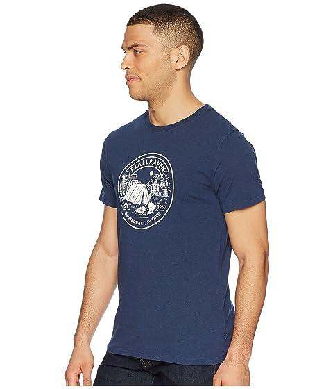 Fjällräven Fjällräven Lägerplats Lägerplats marino azul camiseta HZdw6q