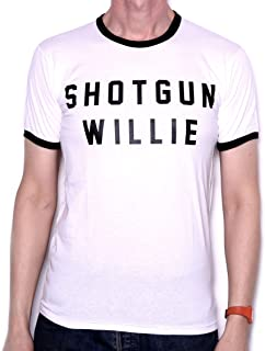 Shotgun Willie Letters T Shirt