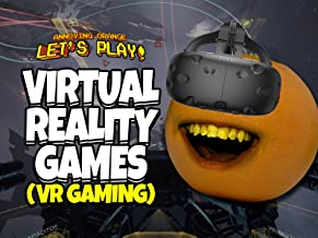 Clip: Annoying Orange Let's Play Virtual Reality Games (VR Gaming)