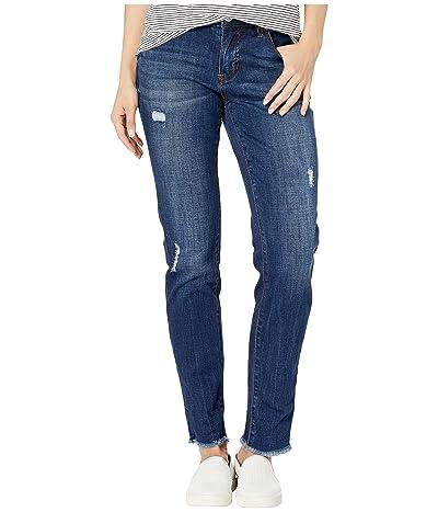 Jag Jeans Carter Girlfriend Crosshatch Denim Jeans (Casper Wash) Women