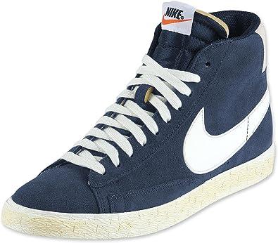 Amazon.com   Nike Blazer High Vintage, Obsidian/Sail Uk Size: 11 ...