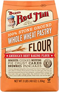 Bob's Red Mill, Pastry Flour, Whole Wheat, 5lb