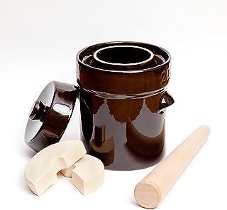 Tarro para fermentación Kenley con pesos y tapa