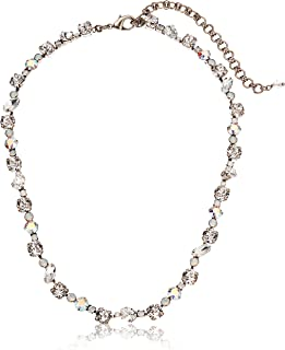 Sorrelli Satin Blush Crystal Collective Necklace