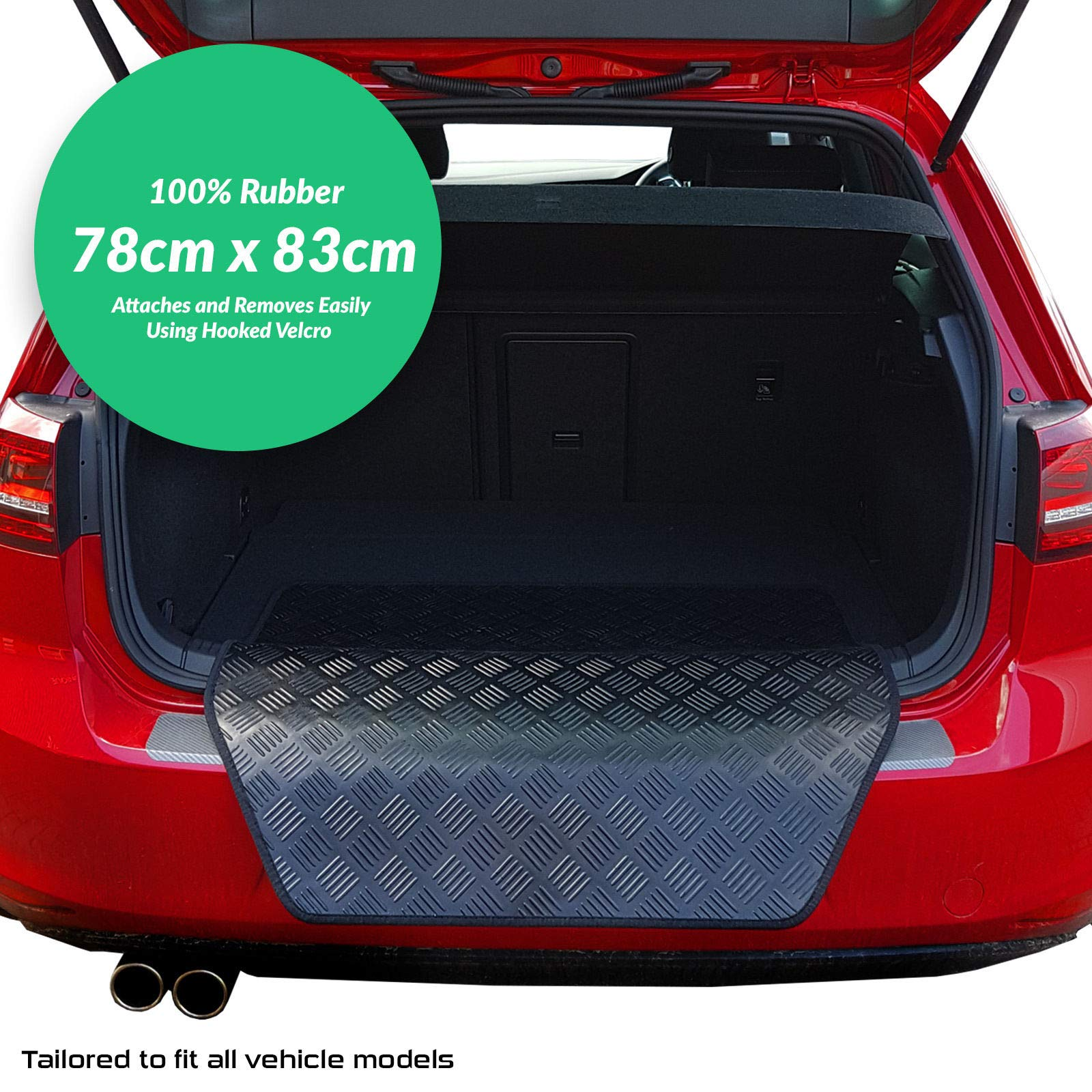 carmats4u To fit 3 Series Touring 2012+ Fully Tailored PVC Boot Liner//Mat//Tray Black Carpet Insert F31