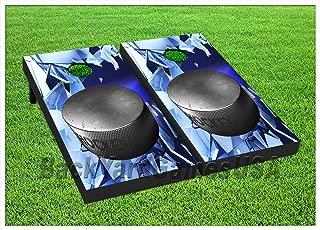BackYardGames Vinyl Wraps Cornhole Boards Decals Hockey Fans Ice BagToss Game Stickers 411