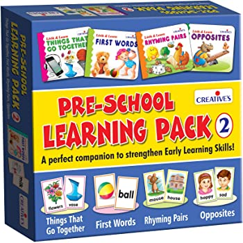 Creative's Pre-School Learning Pack - 2 Flash Cards (Multi-Color)