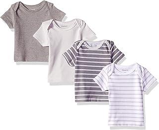 Ultimate Baby Flexy 4 Pack Short Sleeve Crew Tees