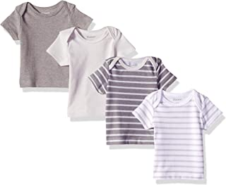 Hanes Ultimate Baby Flexy 4 Pack Short Sleeve Crew Tees